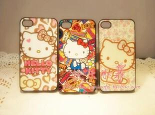 森女最爱 超可爱hello kitty iphone4 4s 手机壳 保护壳 小清新,手机壳,