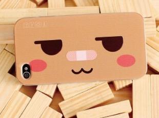 正品授权 张小盒iPhone4/4s 彩雕 外壳 手机套 卡通动漫 表情款,手机壳,