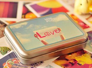 特价!韩国lomo风格 半岛铁盒卡片mini卡片组-Love story 133g,拍立得,