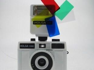 LOMO相机 HOLGA 135BC 135 BC 白色15B四色闪 套装,拍立得,