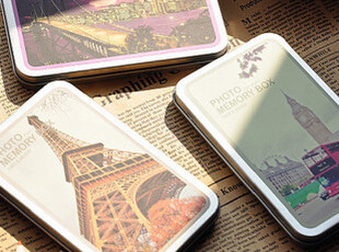 半岛铁盒 LOMO旅行篇 { 卡片+ 贴纸,拍立得,