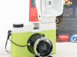 Lomo相机 戴安娜Diana F+ Glow In The Dark夜光限量版免邮送胶卷,拍立得,