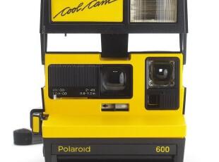 POLAROID 宝丽来 拍立得 COOL CAM 600 一次成像 相机 黑黄,拍立得,