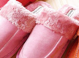 秋冬专享 2012新款加厚绒家居鞋 保暖拖鞋 地板拖 居家情侣拖鞋,拖鞋,