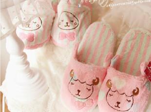 ♥Peach Joh*蜜桃派专柜有售 超可爱^^爱心羊羊OR条纹小兔拖鞋PH,拖鞋,