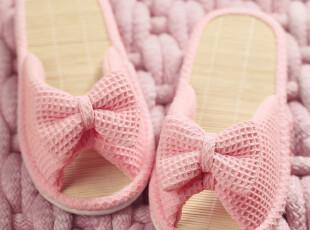 ABS爱彼此 日式女竹底可爱居家拖鞋 夏季新款,拖鞋,
