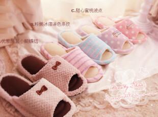日本rosebul*旗下出品 舒适透气毛巾料春夏款可爱拖鞋 多款入PH,拖鞋,