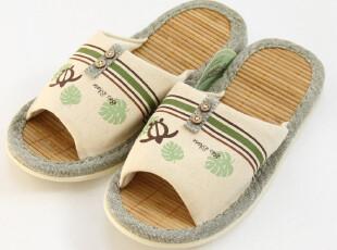出口日本 订单多余 夏天拖鞋 夏日竹席拖鞋 女 室内居家拖鞋,拖鞋,