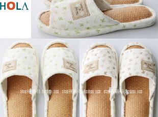台湾 品牌 室内家居居家拖鞋 蔺草拖鞋 露趾草席拖鞋 防臭防脚气,拖鞋,