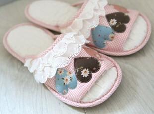 韩国进口代购 防水 地板拖鞋 粉色家居鞋 室内拖鞋(2色),拖鞋,