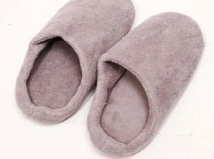 小北家-FA82 拖鞋居家 棉拖 软底 室内拖鞋 珊瑚绒 麂皮防滑底,拖鞋,