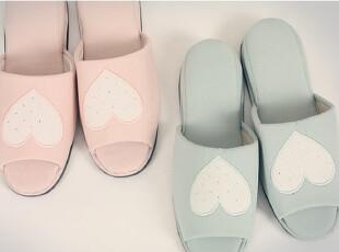 ★公主梦想★韩国家居*Lovely Heart*甜美风格家居鞋* W080,拖鞋,