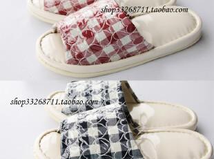 日本 大牌 浴室拖鞋 女士家居室内地板拖鞋  2色入,拖鞋,