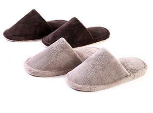muji 珊瑚绒男女式拖鞋 软底拖鞋无印良品,拖鞋,