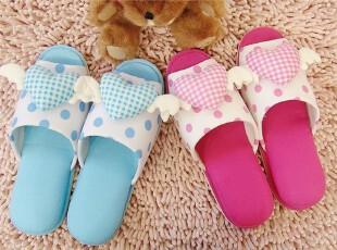 ●公主梦想●韩国家居*天使的心*可爱家居鞋/居家拖鞋M1195,拖鞋,