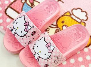 【韩国进口家居】A376 正品Hello kitty 可爱夏季拖鞋 两色可选,拖鞋,
