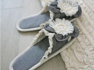 韩国进口代购 家居拖鞋地板拖鞋 居家鞋 布鞋,拖鞋,