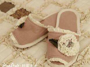 〓持家太太〓韩国家居*花朵朵*地板拖鞋/居家鞋SP15-15,拖鞋,