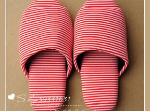 空头星星条纹 情侣拖鞋 拖鞋 居家 夏季 拖鞋居家室内 黑色/红色,拖鞋,