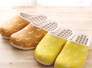 【Asa room】韩国进口居家用品代购 可爱香蕉图案浴室拖鞋tx15,拖鞋,