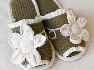 韩国正品代购 超美花瓣家居室内拖鞋/居家地板拖鞋 3色,拖鞋,