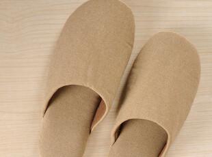 出口四季家居拖鞋 情侣居家软底鞋 室内防滑地板拖鞋 夏季3色纯棉,拖鞋,