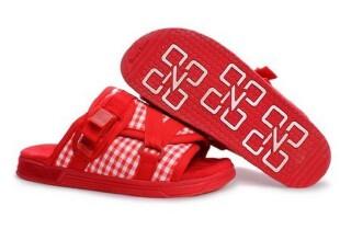 【正品包邮】OutdoZenithEXCEEDIVIS拖鞋(棋盘格) 红(男款),拖鞋,
