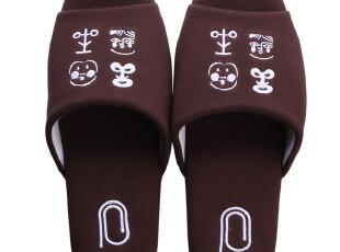 PHAIdesign 意大利设计 针织棉 夏季 拖鞋 居家 情侣 两双包邮,拖鞋,
