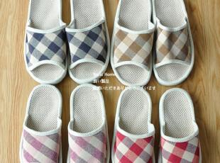 外贸出口日本国-宽脚盆棉麻厚底拖 符合人体工学|情侣拖|夏拖,拖鞋,