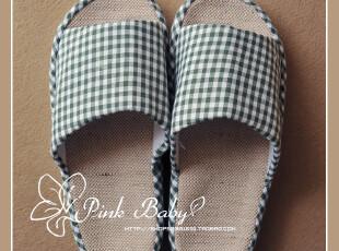 出口日本 夏季拖鞋情侣盆底拖鞋天然亚麻男拖鞋女拖鞋地板拖鞋,拖鞋,