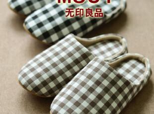 MUJI新品 专柜同步 定型软拖鞋木地板拖鞋 情侣家居拖鞋居家拖鞋,拖鞋,