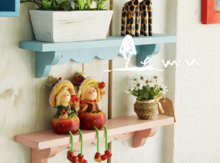 zakka杂货 韩式墙壁木隔板木架壁挂挂钩 家居装饰品 服装拍照道具,挂钩,