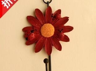 家居装饰 新款花瓣挂钩 衣帽挂,挂钩,
