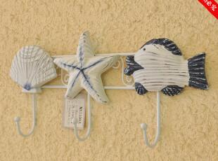 创意家居装饰品 地中海 装点墙面 挂钩 纯手工制作 三于一身 两款,挂钩,