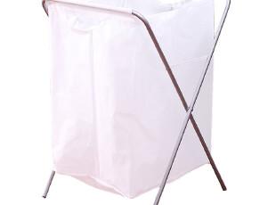 欧润哲 包邮大号白色脏衣袋 收纳架折叠式脏衣篮 脏衣架脏衣篓,挂钩,