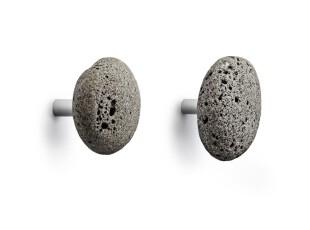 丹麦 Normann Stone Hooks 冰岛石挂钩/挂衣钩 一对,挂钩,