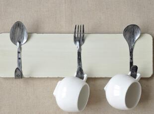 BASIC HOME 新品- 复古古董厨房|居室挂钩 适合各种墙面 限量,挂钩,