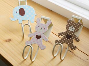 『韩国网站代购』大象小兔和小熊可爱门上挂钩,挂钩,