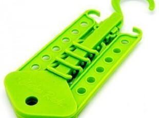 多功能衣架 挂衣架 带挂钩 可旋转 彩色魔术衣架红(绿色),挂钩,