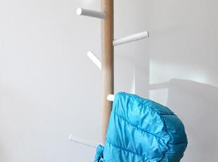 预定包邮高品质woodhoo儿童衣帽架落地实木 衣架挂衣架 门厅雨伞,挂钩,