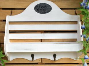 欧式风格 原木手工雕刻 家居日用多功能挂钩 壁挂 白色简约壁挂热,挂钩,