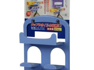 众煌 日本进口保鲜膜置物架 纸巾盒收纳架 挂钩置物架 吸盘整理架,挂钩,