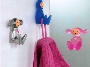 欧洲卫浴spirella浴室可爱挂钩创意男孩女孩粘贴挂钩 3M无痕挂钩,挂钩,