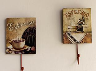 家居饰品 装饰挂钩 太子周欧式复古风格挂钩一套四个,挂钩,