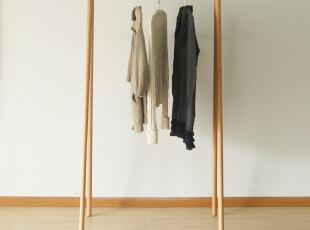 S11挂衣架|衣帽架|德国榉木|木蜡油|实木衣架|简约|木智工坊家具,挂钩,