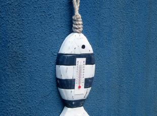 地中海风格 可爱温度计 壁挂钩 创意装饰挂钩饰品 四款可选小挂钩,挂钩,