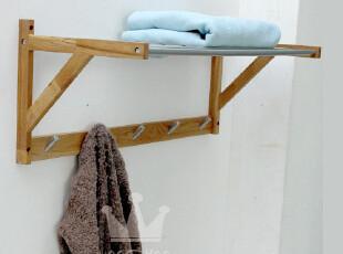 包邮特价出口外贸原单WOODHOO 纯实木毛巾架 毛巾挂 挂衣架,挂钩,