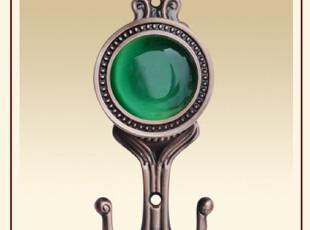 窗帘挂钩 窗帘配件 铁艺门后挂钩 挂衣钩 衣帽钩 墙壁钩 绿宝石,挂钩,