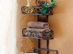ts16冲5钻超值价亏本卖欧式多功能铁艺浴室毛巾架创意肥皂架挂钩,挂钩,