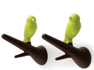 泰国Qualy 雀儿挂钩 绿色对装 把鸟儿带回家 市场价158元,挂钩,